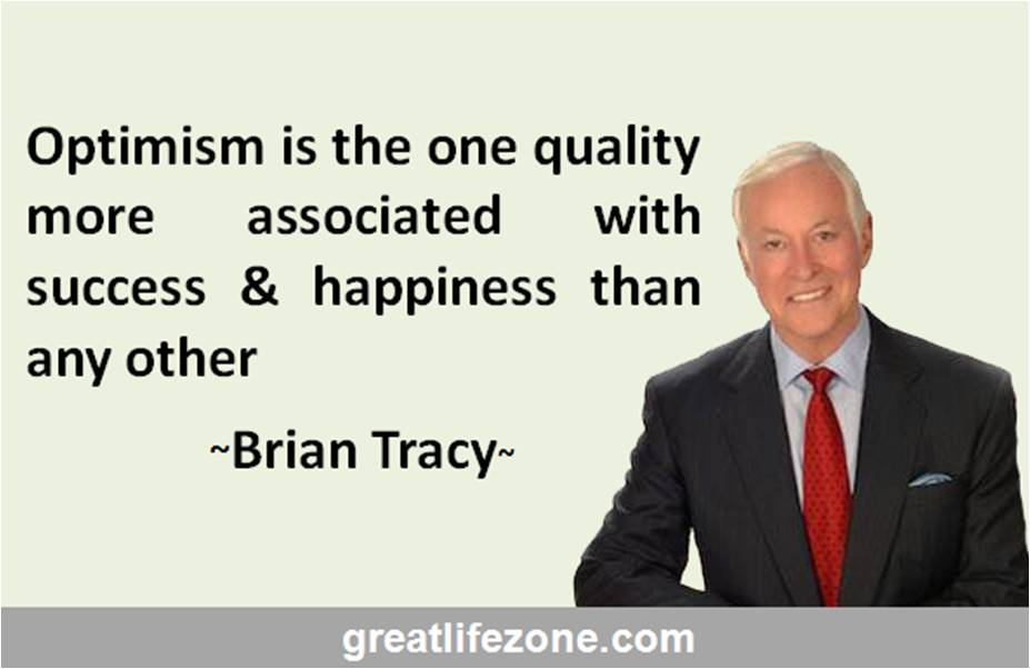Optimism is a Quality