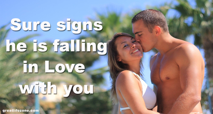 Sure Signs He Is Falling In Love With You