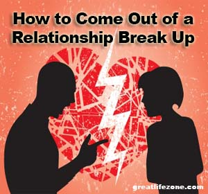 how to come out of love breakup depression