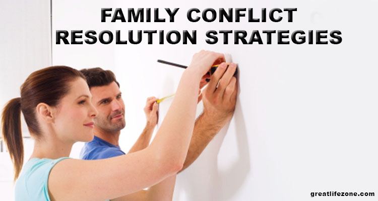 Family conflict resolution strategies