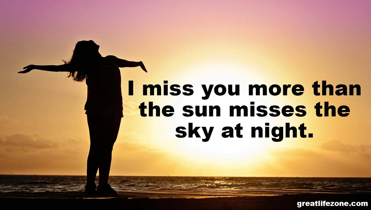 Miss You More Than Quotes: I Miss U Quotes With Images