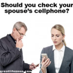 Should you check your spouse's cellphone