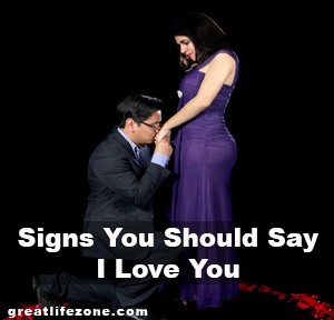 Signs You Should Say I Love You